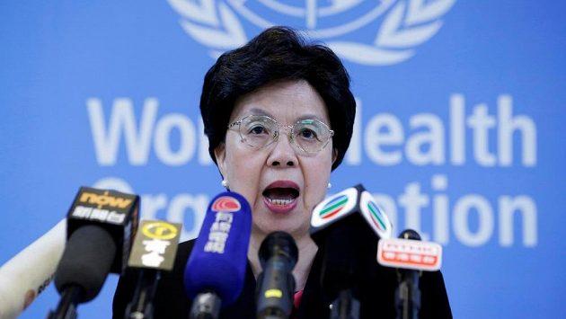 Ředitelka Světové zdravotnické organizace (WHO) Margaret Chanová