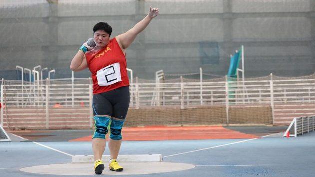 Čínská koulařka Kung Li-ťiao zvítězila na halovém mítinku v Pekingu letošním světovým maximem 19,70 metru.
