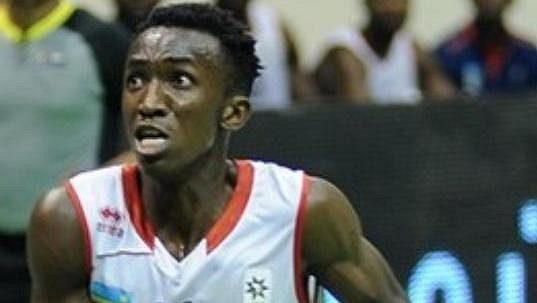 Basketbalista Jean Jacques Nshobozwabyosenumukiza.