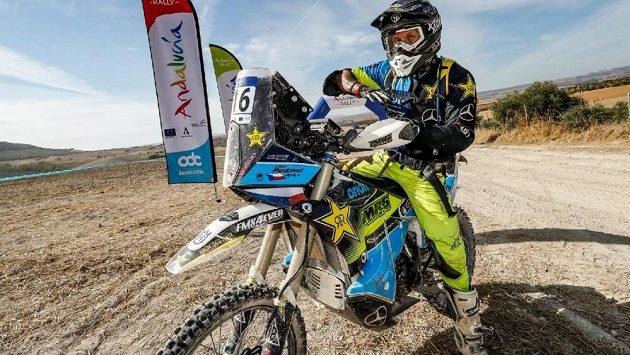 Český motocyklový závodník Libor Podmol se na Andalucía Rallye umístil na třetím místě mezi nováčky