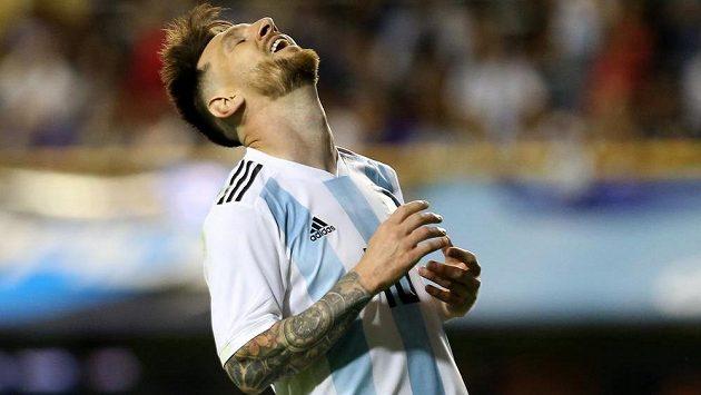 Lionel Messi se fanouškům v Jeruzalémě nepředstavil.