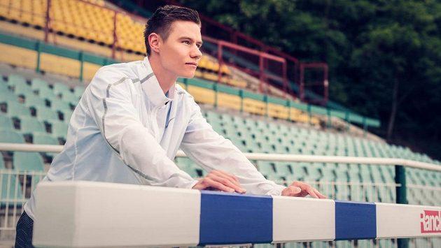 Čtvrtkař Pavel Maslák vyhlíží amsterdamské mistrovství Evropy.