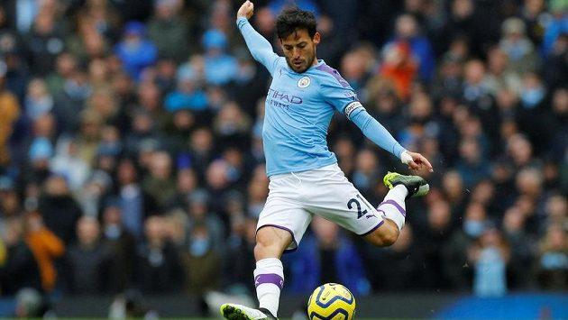 Kapitán Manchesteru City David Silva