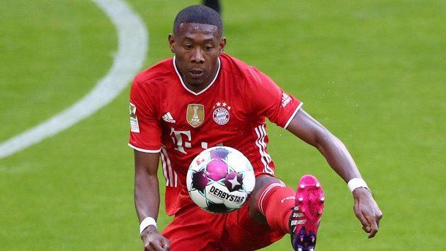 Rakouský fotbalista Bayernu David Alaba.