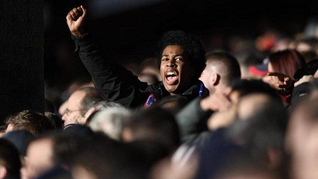 Fanoušci Crystal Palace dali najevo nespokojenost s výkonem svých oblíbenců.