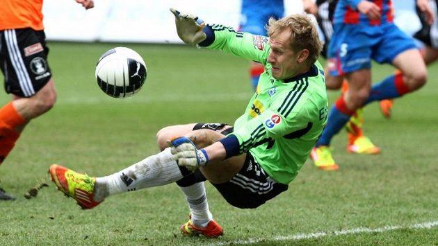 Brankář Zlámal zasahuje. Dočká se s Olomoucí evropských pohárů?