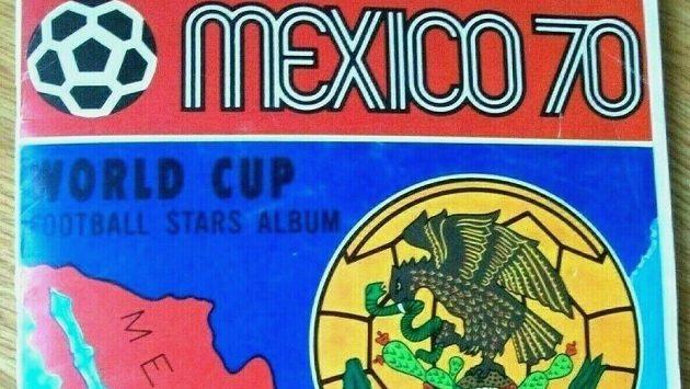 Za 10 450 liber bylo před třemi lety prodáno album vydané k mistrovství světa v Mexiku v roce 1970.