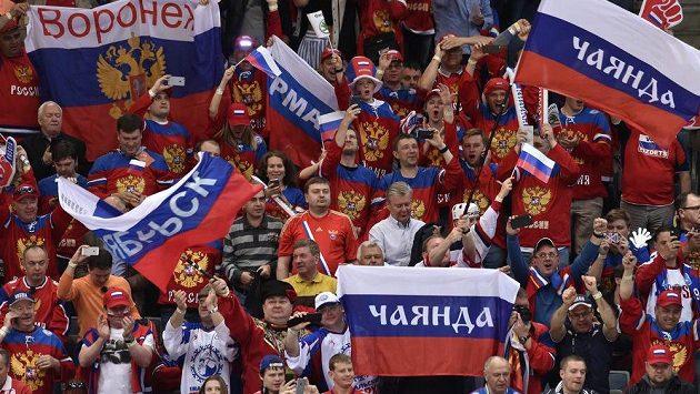 Fanoušci Ruska - ilustrační foto.