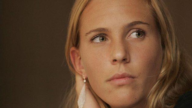 Česká tenistka Nicole Vaidišová