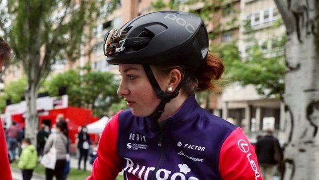 Česká cyklistka Tereza Neumanová.