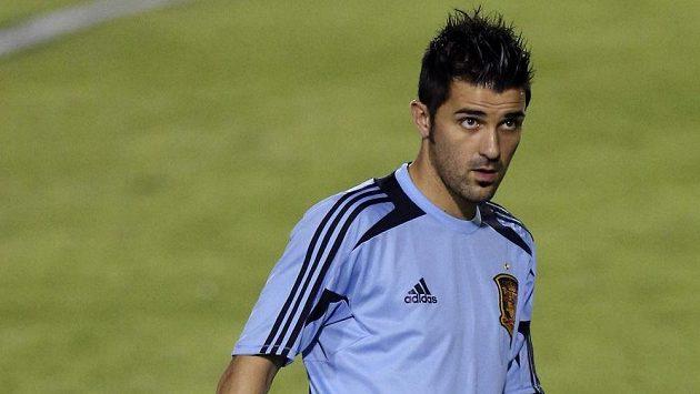 Útočník David Villa míří z Barcelony do Atlétika Madrid.