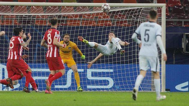 Sestřih osmifinálového zápasu Ligy mistrů Atlético Madrid - Chelsea