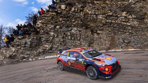 Neuville na Rallye Monte Carlo (ilustrační foto)