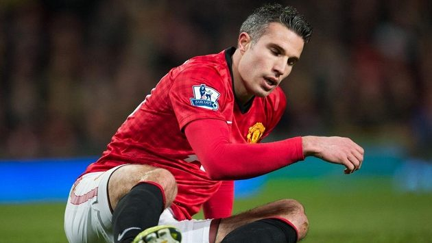 Robin van Persie z Manchesteru United čeká téměř 12 hodin na další gól.