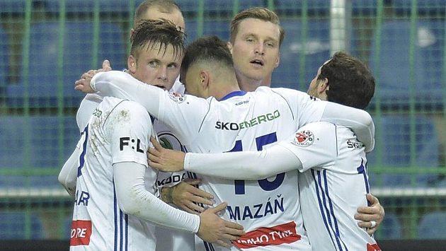 Fotbalisté Mladé Boleslavi.