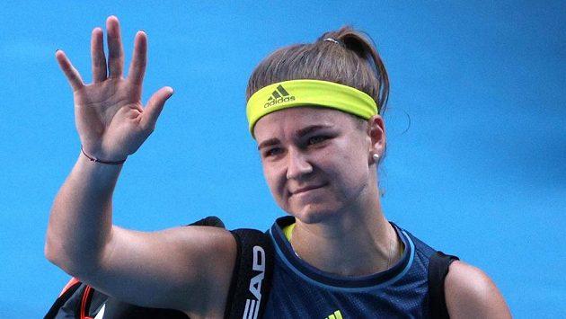 Karolína Muchová se do finále Australian Open neprobojovala