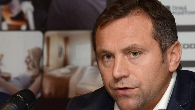 Ředitel hokejové extraligy Josef Řezníček.