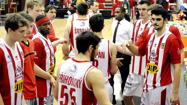 Basketbalisté Pardubic - ilustrační foto.