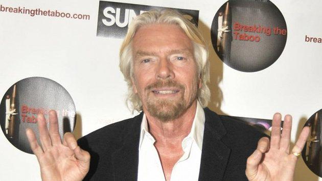 Britský miliardář Richard Branson.