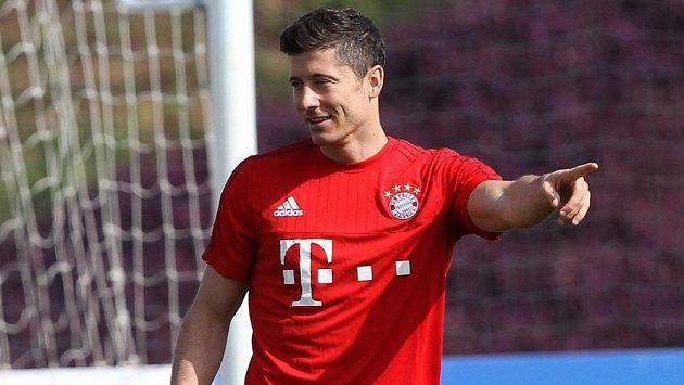 Polský útočník Robert Lewandowski nemíní z Bayernu odejít.