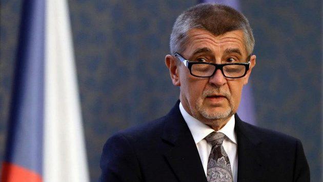 Premiér v demisi Andrej Babiš.