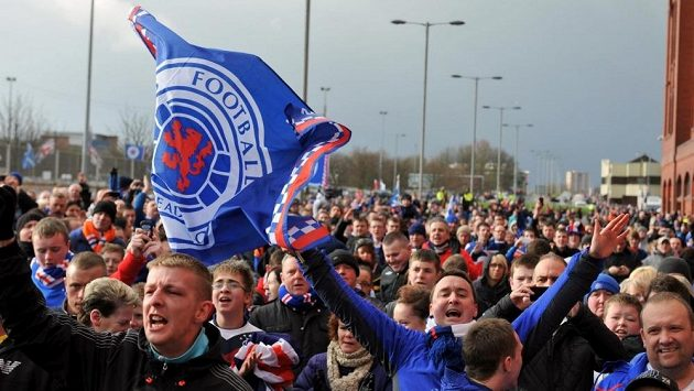 Fanoušci Glasgow Rangers se možná brzy dočkají návratu slavného klubu do nejvyšší skotské soutěže.