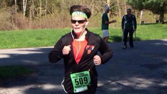 Dvaatřicetiletá Meghan Walshová se nevzdává.