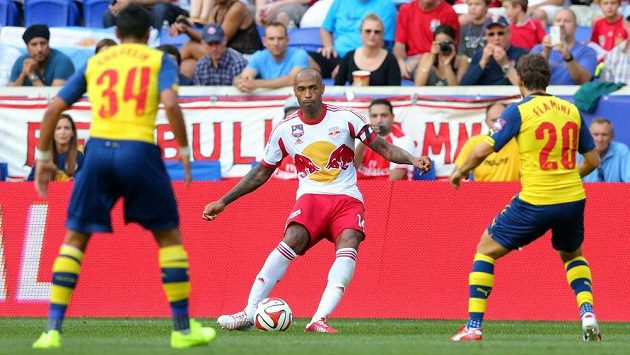 Thierry Henry v utkání proti svému bývalému klubu.