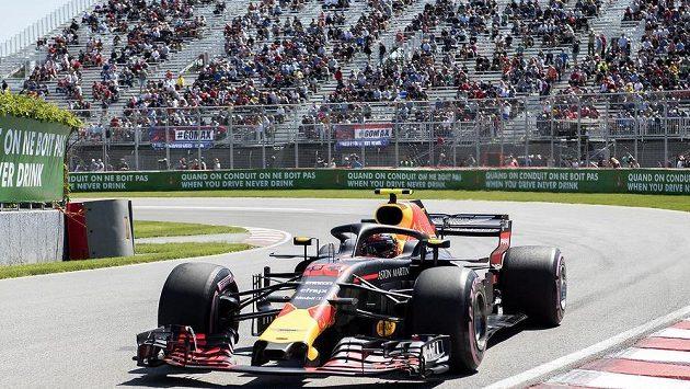 Tréninky na Velkou cenu Montrealu formule 1 ovládl Max Verstappen.