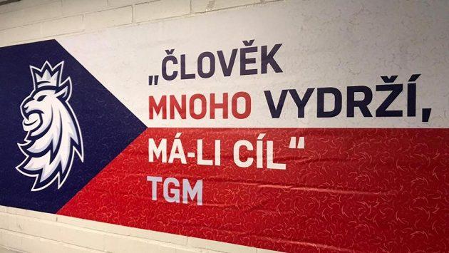 Slogan české hokejové reprezentace.