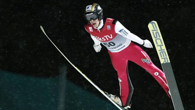 Český skokan na lyžích Roman Koudelka.