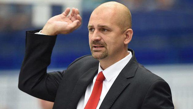 Miloš Holaň, trenér běloruského týmu Něman Grodno.