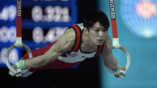 Kohei Učimura při MS v Montrealu.