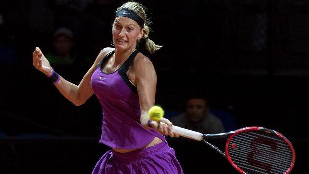 Tenistka Petra Kvitová došla ve Stuttgartu až do semifinále.