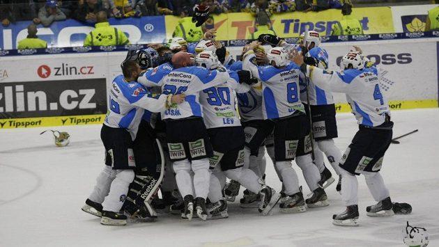 Hokejisté Plzně, ilustrační foto.