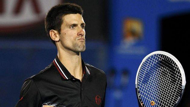 Hvězda srbského týmu Novak Djokovič
