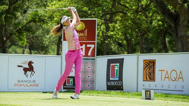 Klára Spilková jako první v historii českého golfu vybojovala vítězství mezi profesionály.