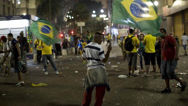 Ilustrační snímek fanoušků v Sao Paulu.