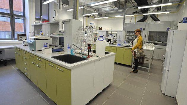 Chemická laboratoř. Ilustrační foto.