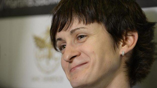 Martina Sáblíková se vrátila z cyklistického mistrovství světa spokojená.