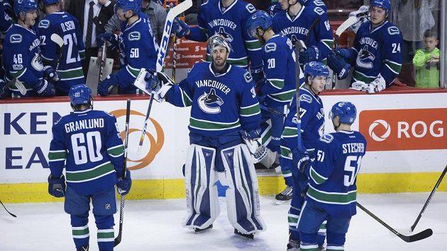 Hokejisté Vancouveru - ilustrační foto.