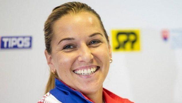 Dominka Cibulková se rozloučí se slovenskou fedcupovou reprezentací.