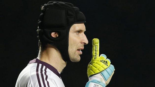 Brankář Chelsea Petr Čech vychytal proti Arsenalu nulu.