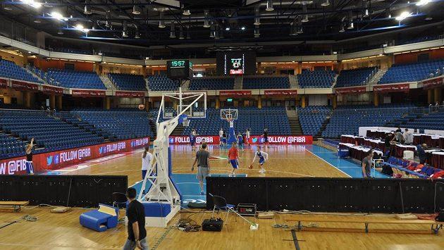 Dějiště aktuálního mistrovství Evropy v basketbalu žen v Debrecínu.