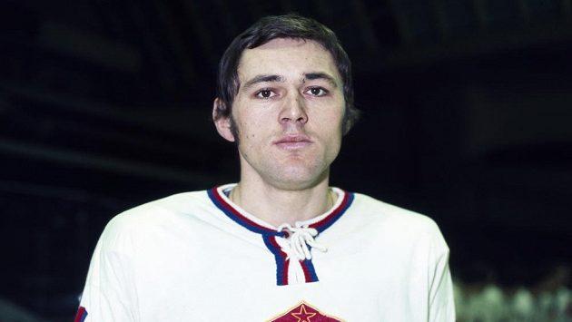 Bývalý útočník Václav Nedomanský (na snímku z roku 1972) bude 12. listopadu 2019 uveden do hokejové Síně slávy v Torontu jako druhý Čech po brankáři Dominiku Haškovi