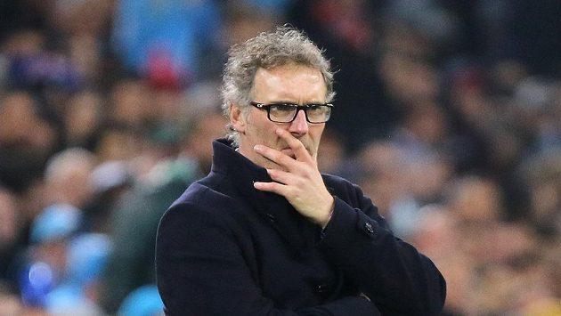 Trenér Paris Saint-Germain Laurent Blanc.