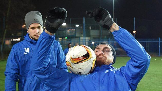 Milan Kerbr (vpravo) končí v Liberci. Slovan se nedohodl se Slováckem na podmínkách.