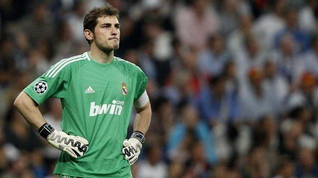 Brankář fotbalistů Realu Madrid Iker Casillas
