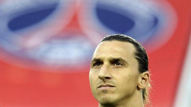 Útočník Paris St. Germain Zlatan Ibrahimovic