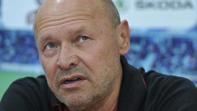 Trenér Mladé Boleslavi Miroslav Koubek byl po utkání v Enschede zklamaný.